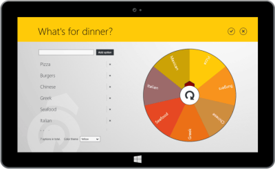 Windows 8 Metro style tablet app on XAML and C#